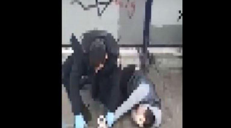 צפו: אדם חשוד שהפר בידוד קורונה, נתפס על ידי שוטרים ומתנגד למעצר [רחבי הרשת]