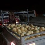 """גניבת ענק של מלונים במועצה אזורית מנשה: מש""""ק לכד רכב עמוס"""