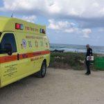 נקבע מותו של בן 63 שאיבד את הכרתו במהלך דיג בחוף אולגה