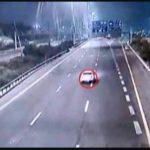 """צפו בתיעוד דרמטי מלילה בכביש 6: נהג איבד את הבלמים ודהר ב-120 קמ""""ש [רחבי הרשת 📹]"""