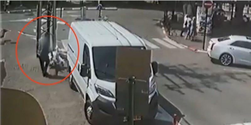 תקיפה באמצע הרחוב - דוברות המשטרה