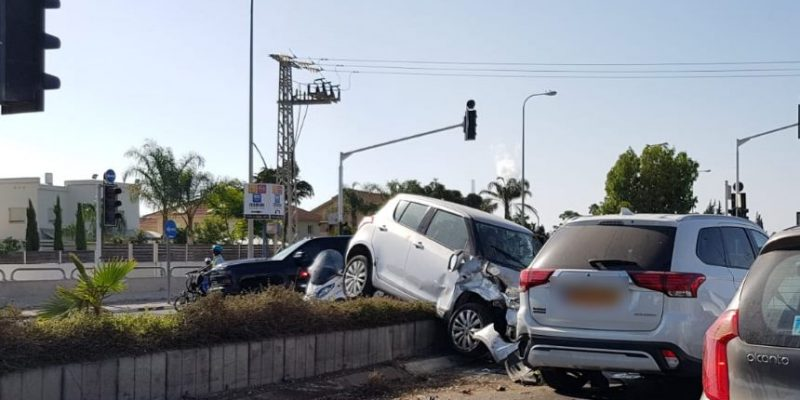 תאונה בכביש 4