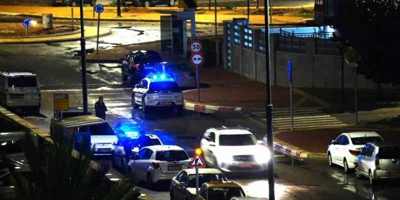 אירוע דקירה - משטרה אור עקיבא הכרמל