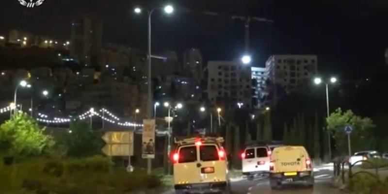 סרטון המשטרה - מעצרים במגזר על עבירות נשק