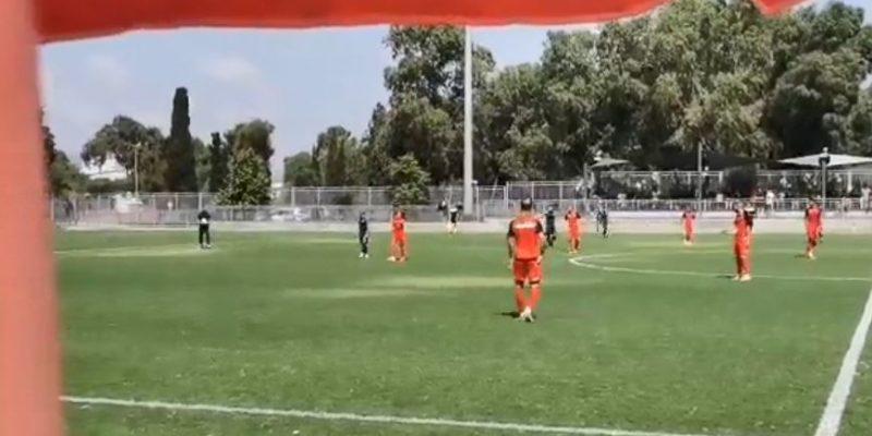 הפועל חיפה עכו משחק אימון