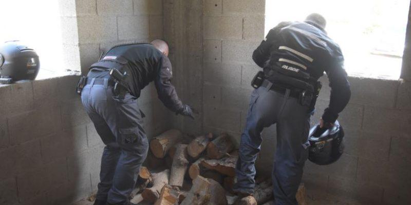 032 - חיפוש נשק - פשיטה - דוברות המשטרה