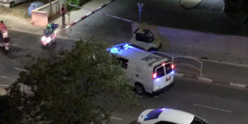 073 - רימון הלם בשכונת אורות באור עקיבא - דוד המלך - צילום- שירות מגדלור ניוז