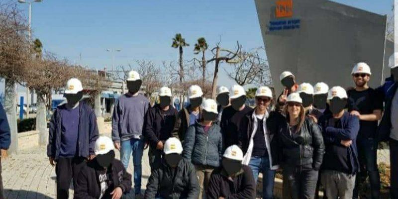 חברת החשמל עם שער מנשה